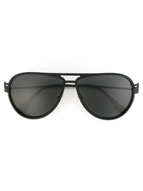 VERSACE women sunglasses black stars