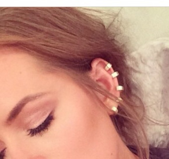 jewels ear cuff gold fake