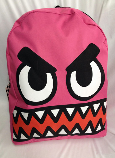 Pink goblin monster backpack · lucky seven shop · online store powered by storenvy