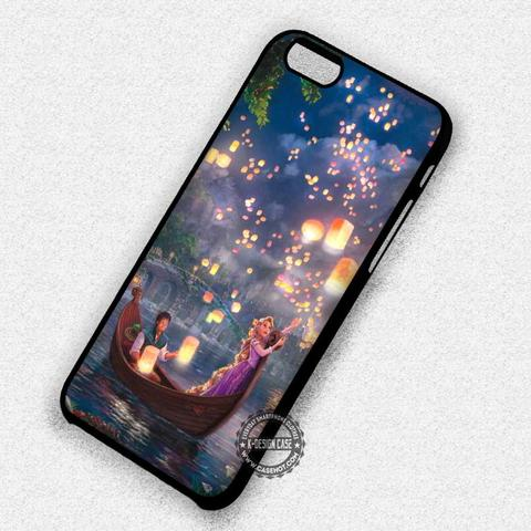 Long Hair in Night Lanterns Rapunzel Tangled - iPhone 7 6 Plus 5c 5s SE Cases & Covers
