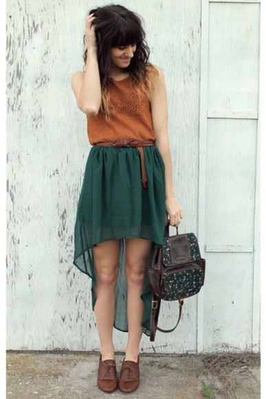skirt high-low