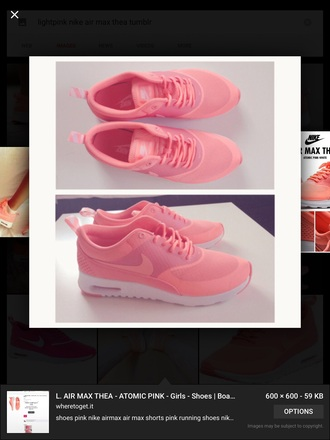 shoes pink nike shoes air max