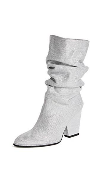 STUART WEITZMAN silver shoes