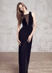 dress,velvet,maxi,maxi dress,transparent,semi-transparent,velvet dress,elegant
