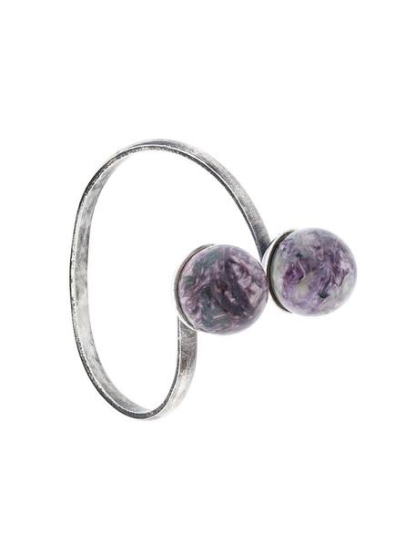 Midgard Paris women silver purple pink jewels