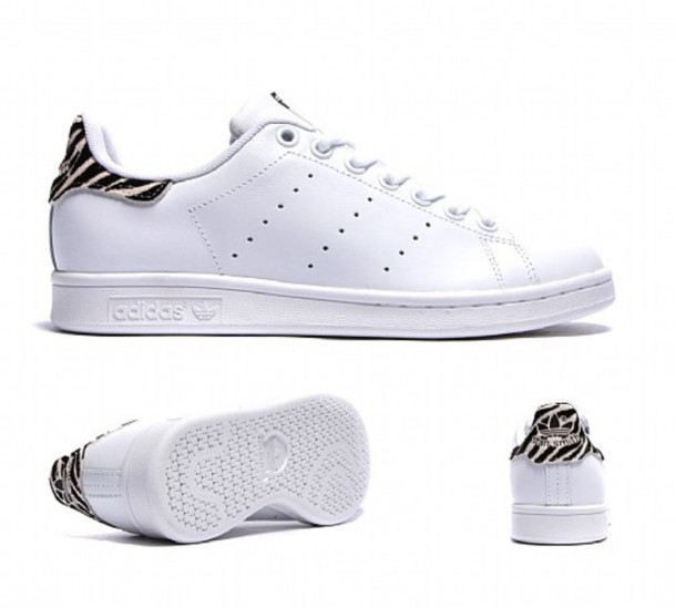 cheap for discount 252ab 00f8f shoes adidas stan smith zebra print white white shoes adidas shoes stan  smith stan smith adidas