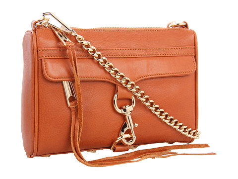 Rebecca Minkoff Mini M.A.C. Clutch with Gold Almond - Zappos.com Free Shipping BOTH Ways