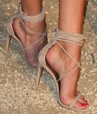 shoes sandals high heels nude strappy heels nude heels