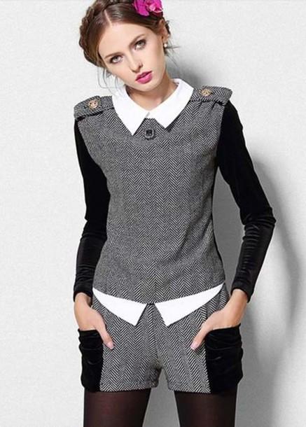 Sweater Blouse