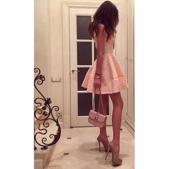 dress pink dress prom dress pretty woman india love summer dress clothes