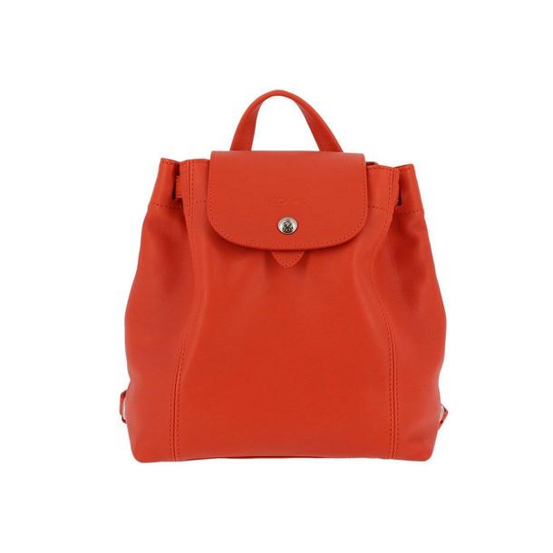 Longchamp women bag shoulder bag orange