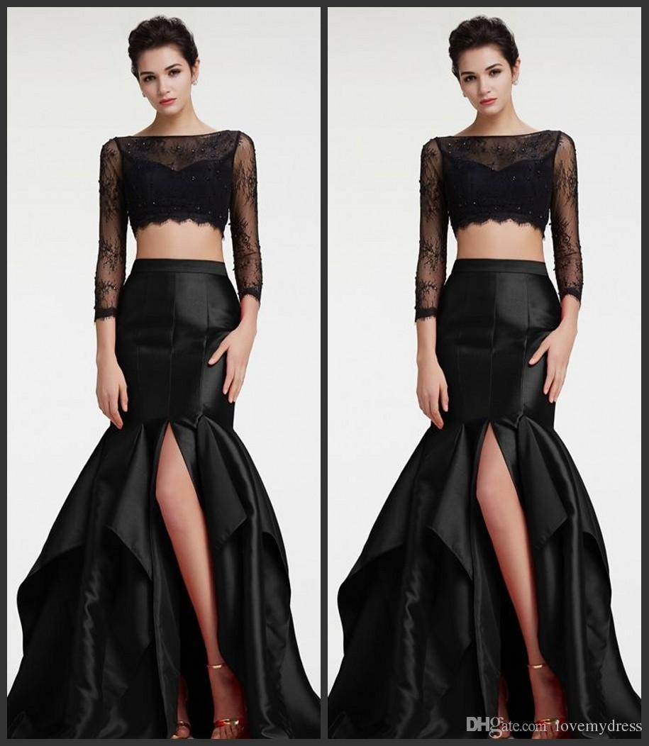 5cf67bf1f2a Crop Top Long Sleeve Prom Dresses - Gomes Weine AG