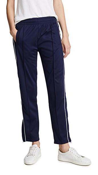 Anine Bing pants track pants navy