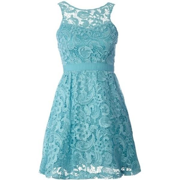 dress cute dress lace dress blue dress lace bridesmaid dress