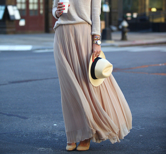 brown skirt skirt maxi skirt