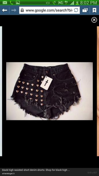 shorts High waisted shorts black high waisted black shorts