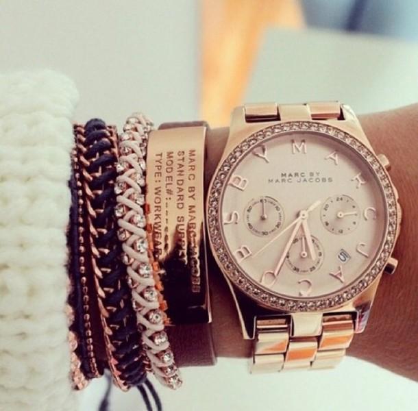 jewels watch bracelets stacked bracelets leather bracelet marc