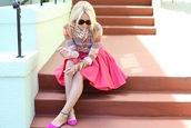 pink skirt,atlantic pacific,skirt