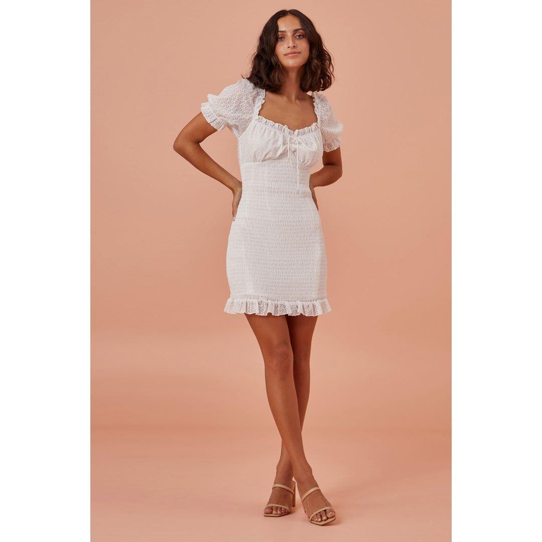 EVA DRESS - WHITE