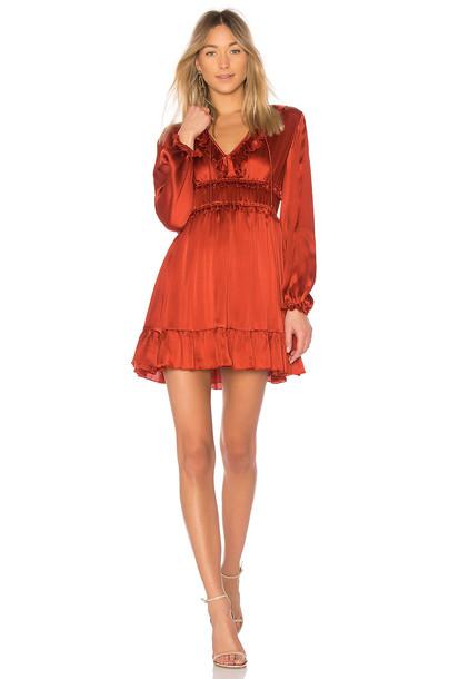 Ulla Johnson dress rust