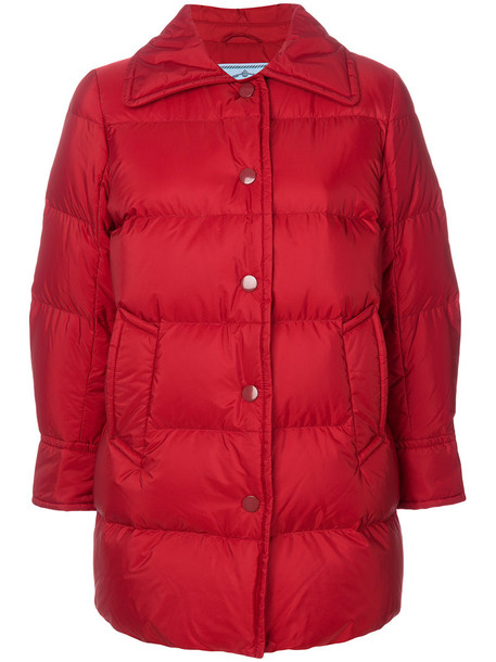 Prada jacket women red