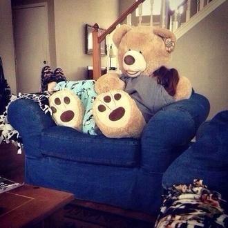 jewels teddy bear giant giant plush tank top fluffly cute toy