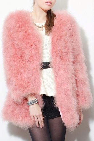 coat faux fur faux fur vest faux fur jacket faux fur coat pastel pink classy winter outfits winter coat warm zaful cozy coat winter sweater chic
