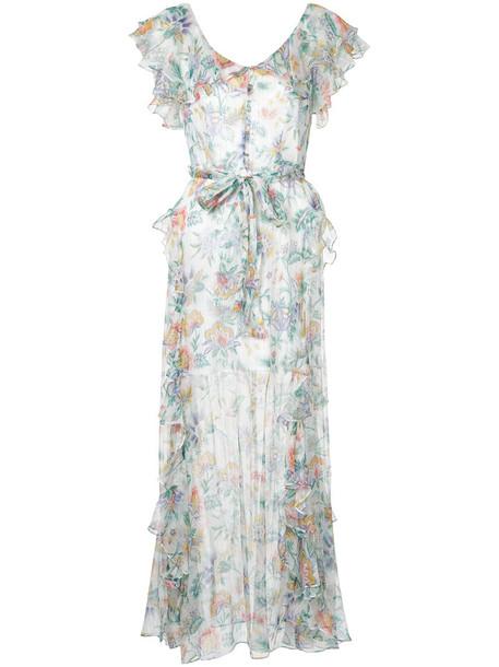 Alice McCall dress maxi dress maxi women white silk