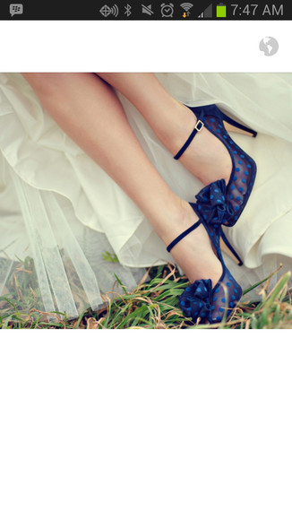 shoes blue shoes wedding shoes
