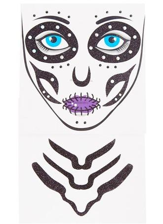 make-up temporary tattoo witch skeleton gift ideas halloween halloween makeup