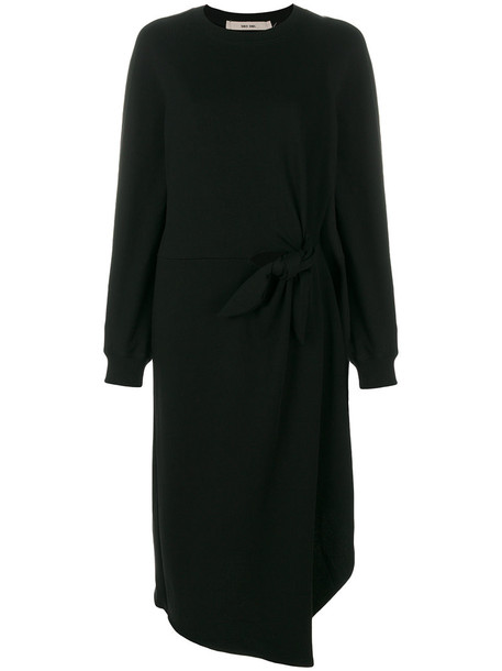 Damir Doma dress draped dress women draped cotton black