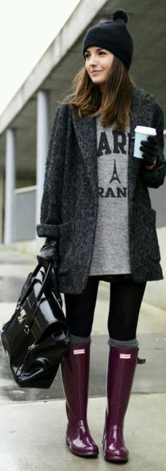 coat grey coat black coat long coat