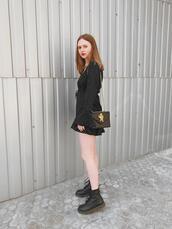 kristina magdalina,blogger,dress,bag,shoes