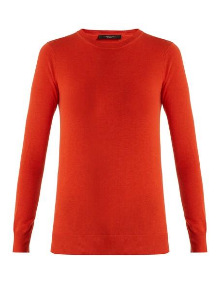 WEEKEND MAX MARA sweater red