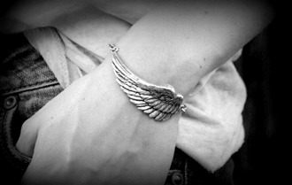 wings grey jewels