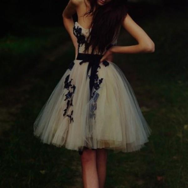 dress flowers bow tutu