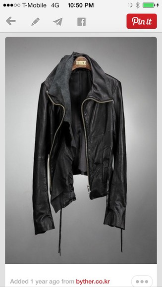leather jacket motorcycle motorcycle jacket black coat
