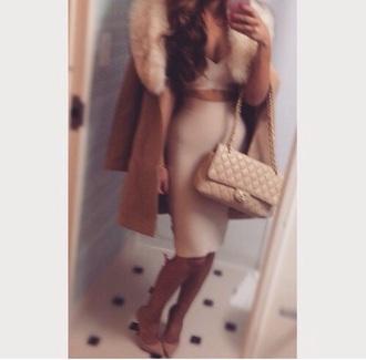 coat beige beige jacket beige dress beige shoes beige skirt beige high heels beige tank top beige coat winter coat long coat fur coat trench coat fall coat camel coat bag high heels nude high heels cute high heels nude nude dress fur