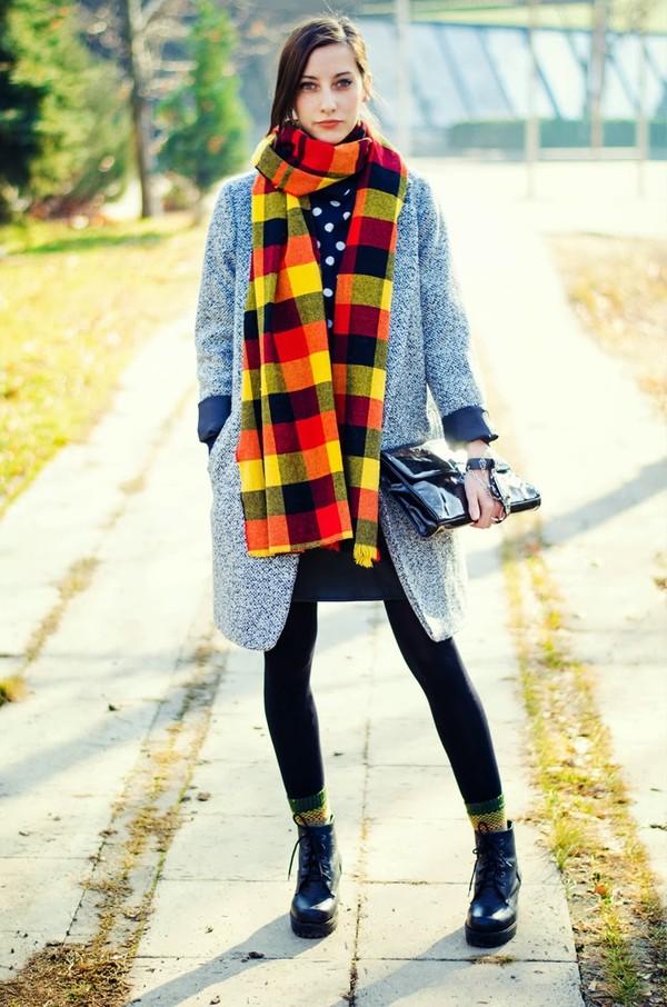 beauty insanity coat scarf skirt