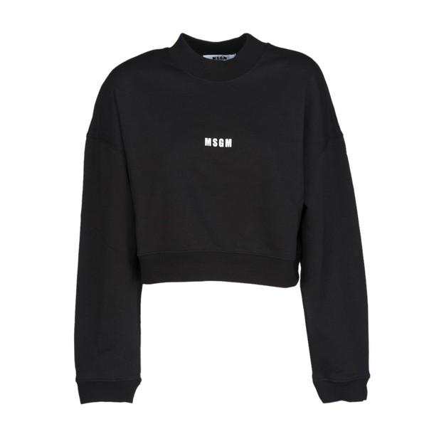 MSGM sweatshirt mini black sweater