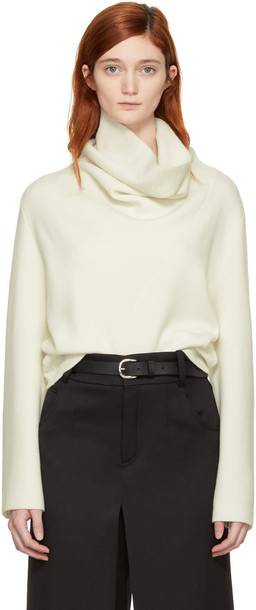 Chloe turtleneck white off-white sweater
