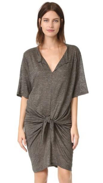 Iro Arwen Dress - Dark Grey