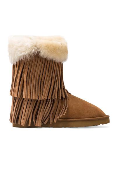 Koolaburra sheepskin boots tan
