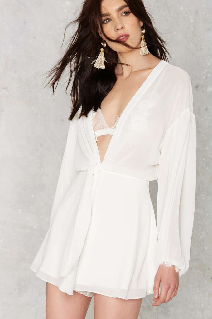 704793a64bd Nasty Gal Light As Air Romper