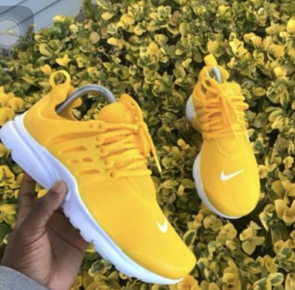 b8c49466d263 shoes nike presto yellow nike shoes nike running shoes running shoes nike  sneakers nike free run