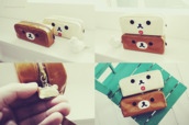 bag,pencil case,animal,dog,kawaii,cute
