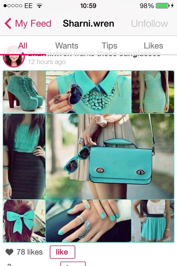 blouse jewels shoes dress skirt shirt