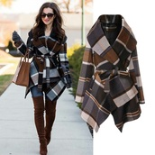 coat,plaid