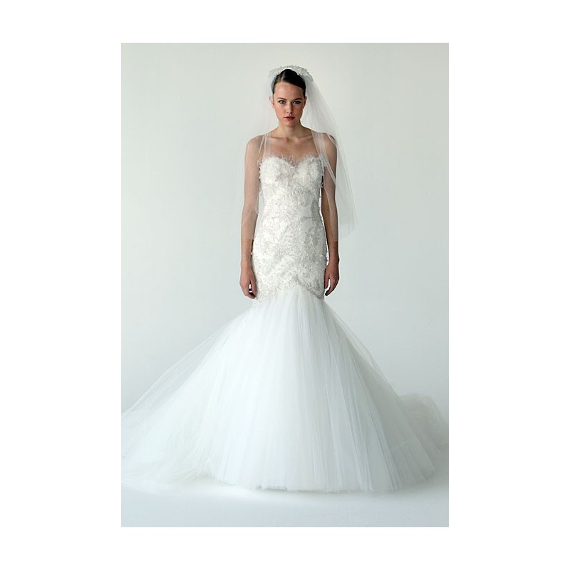 Marchesa - Fall 2012 - Stunning Cheap Wedding Dresses|Prom Dresses On sale|Various Bridal Dresses