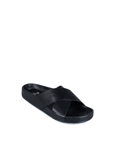 Criss Cross Sandal - Nly Shoes - Zwart - Casual Schoenen - Schoenen - Vrouw - Nelly.com
